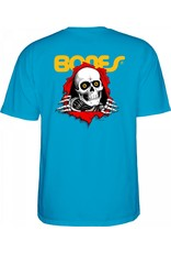 POWELL PERALTA POWELL PERALTA Youth S/S T-Shirt - Ripper Turquoise