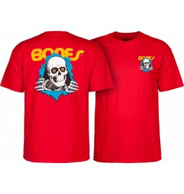 POWELL PERALTA POWELL PERALTA Youth S/S T-Shirt - Ripper Red