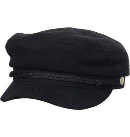 RUSTY RUSTY Zig Zog Solid Hat Worn Black