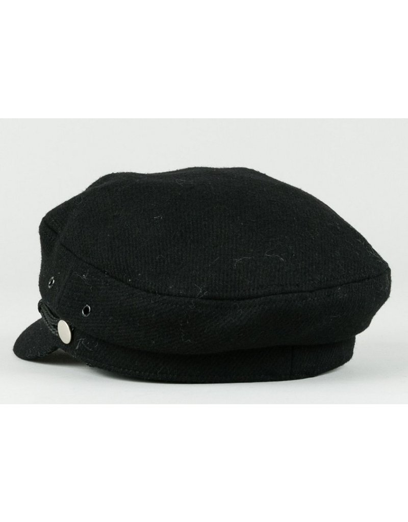 RUSTY RUSTY Zig Zog Solid Hat Worn Black