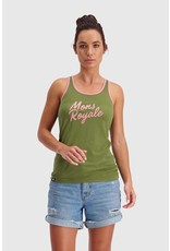 MONS ROYALE MONS ROYALE Icon Tank Khaki Rose