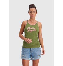 MONS ROYALE MONS ROYALE Icon Tank Khaki Rose