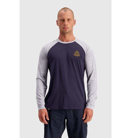 MONS ROYALE MONS ROYALE ICON Raglan LS 9 Iron / Grey Marl