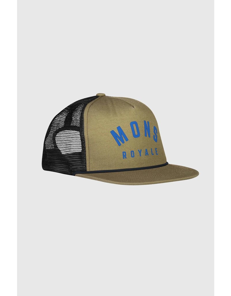 MONS ROYALE MONS ROYALE The ACL Trucker Cap Olive