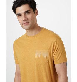 TENTREE TENTREE Juniper Pocket T-Shirt Sweet Birch Yellow Heather