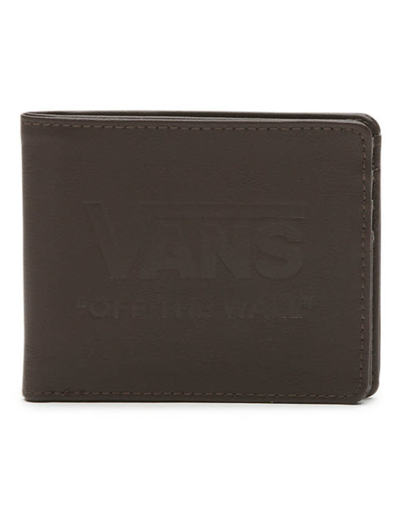 VANS VANS Vans Logo Wallet Dark Brown