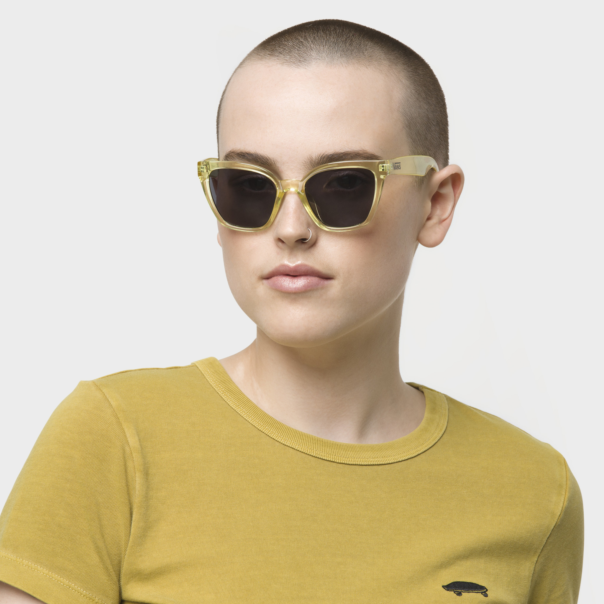 Vans Hip Cat Sunglasses Yellow Pear Edge Of The World