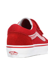 VANS VANS Old Skool V (Checkerboard) Chili Pepper/True White