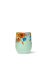 CORKCICLE CORKCICLE Rifle Paper Stemless - 12oz Gloss Mint - Lively Floral