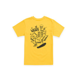 VANS VANS Break Bones SS Kids Lemon Chrome