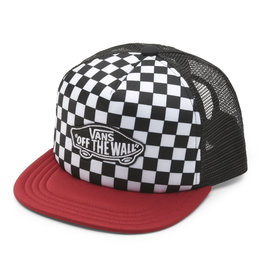 VANS VANS Classic Patch Trucker Plus Boys Chili Pepper/Checkerboard