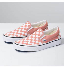 VANS VANS Classic Slip-On (Checkerboard) Rose Dawn/True White