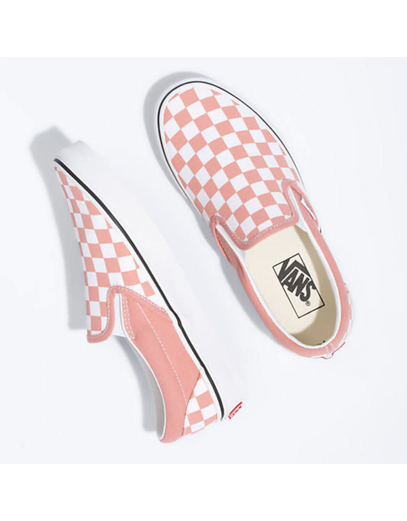 VANS VANS Classic Slip-On (Checkerboard) Rose Dawn/True White