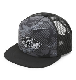 VANS VANS Classic Patch Trucker Plus Boys Checker Camo