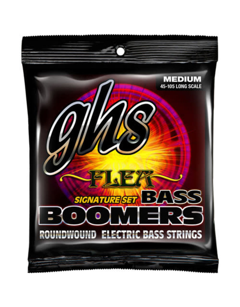 GHS GHS Flea Signature Bass Boomers® Roundwound Electric Bass Guitar Strings