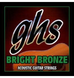 GHS GHS Bright Bronze™ 80/20 Copper Zinc Acoustic Guitar Strings - Ultra Light 10-46