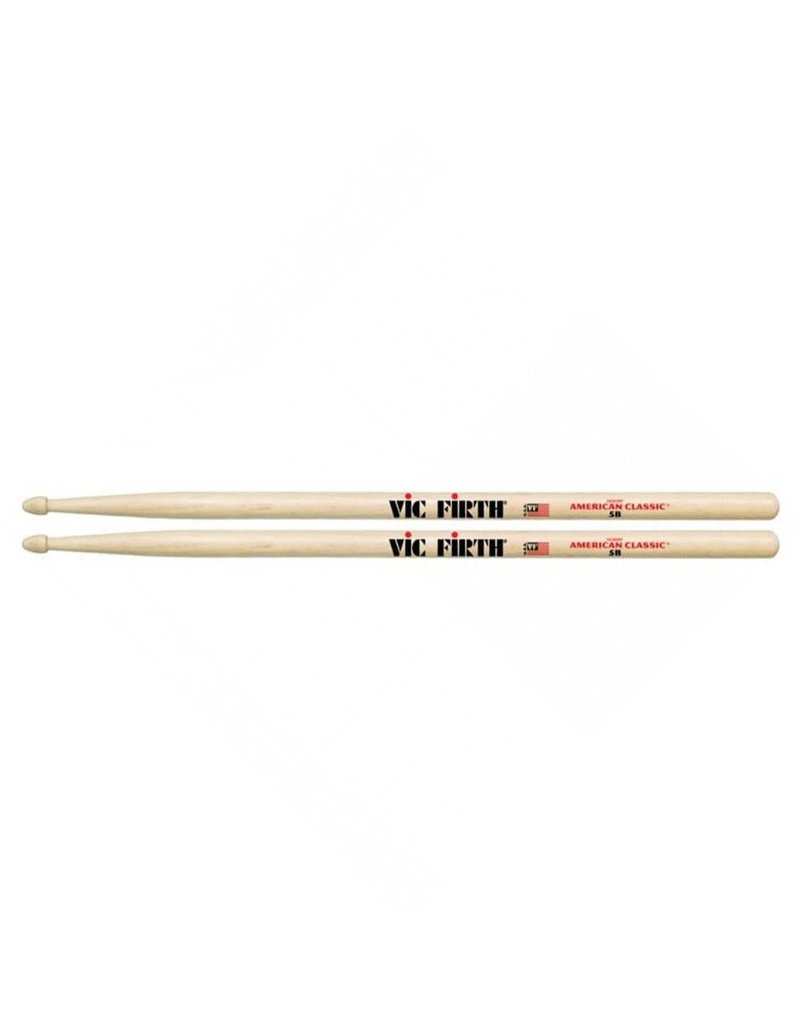 VIC FIRTH VIC FIRTH American Classic Wood Tip 5B Drumsticks