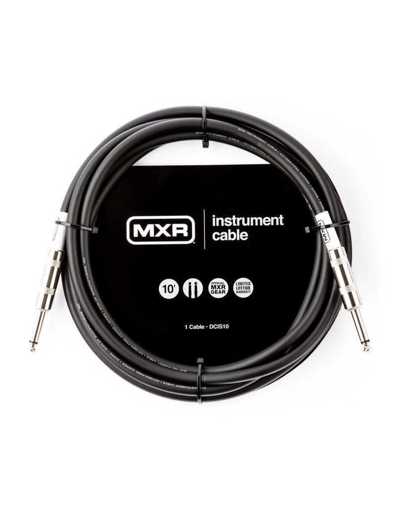 DUNLOP DUNLOP MXR 10' Standard Instrument Cable