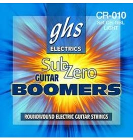 GHS GHS Sub-Zero Boomers® Roundwound Electric Guitar Strings - Custom Light 9-46