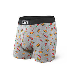 SAXX SAXX Ultra Boxer Brief Fly Grey Hot Taco