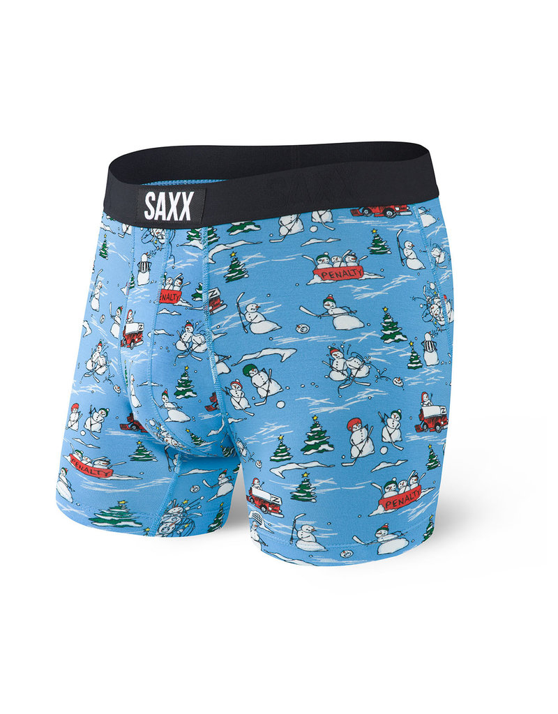 SAXX SAXX Vibe Boxer Brief Blue Pucking Awesome