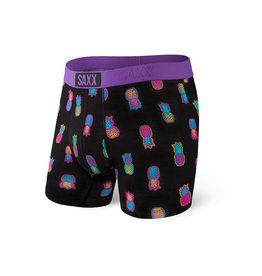 SAXX SAXX Vibe Boxer Brief Black Solar Pineapples