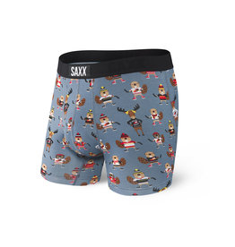 SAXX SAXX Vibe Boxer Brief Grey Puck Yeah
