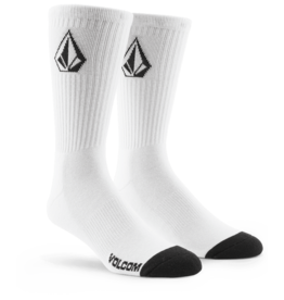 VOLCOM VOLCOM Boys Full Stone Sock 3Pk White