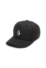 VOLCOM VOLCOM Full Stone Heather Xfit Hat Charcoal Heather