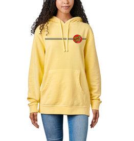 SANTA CRUZ SANTA CRUZ Womens Hood Classic Dot Pigment Yellow