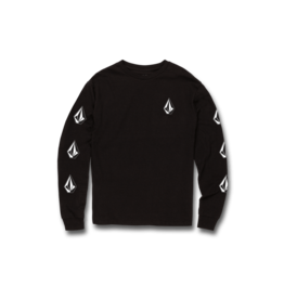 VOLCOM VOLCOM Little Boys Deadly Stones Long Sleeve Tee Black