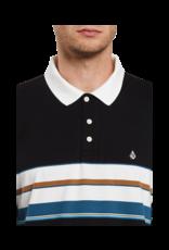 VOLCOM VOLCOM Kirkwall Polo Long Sleeve Black