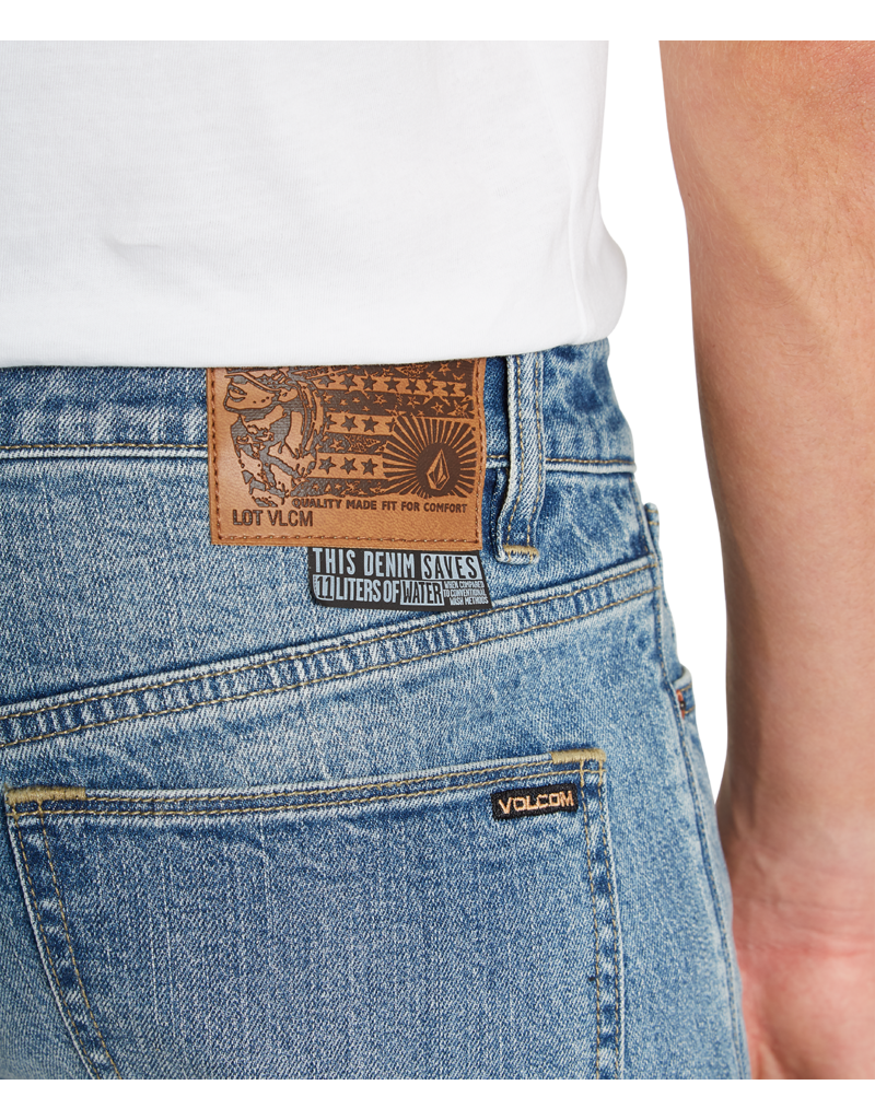 VOLCOM VOLCOM Vorta Slim Fit Jeans Authentic Dark Stone