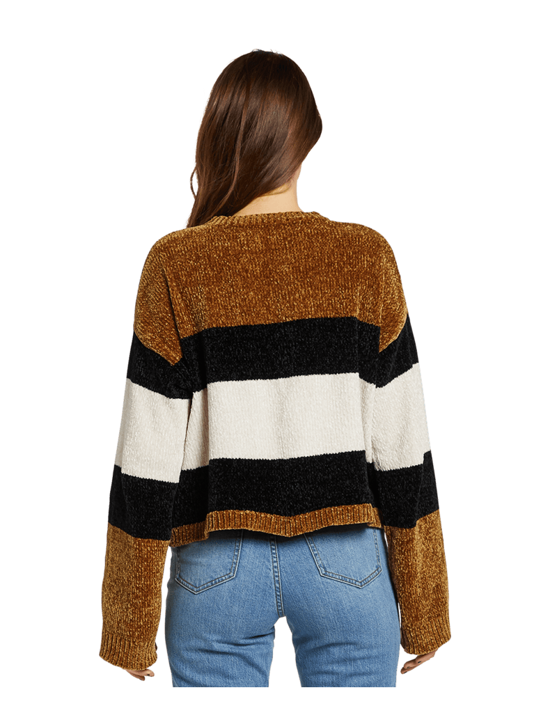 VOLCOM VOLCOM Bubble Tea Sweater Vintage Gold