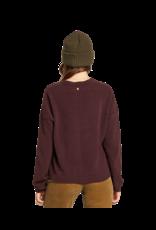 VOLCOM VOLCOM Stituations Sweater Black Plum