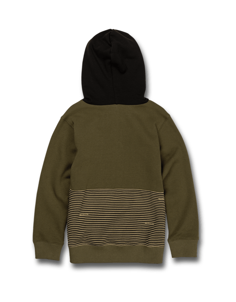 VOLCOM VOLCOM Little Boys Forzee Pullover Fleece Military