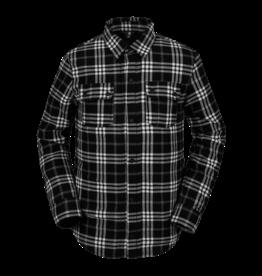 VOLCOM VOLCOM Sherpa Flannel Jacket - Black