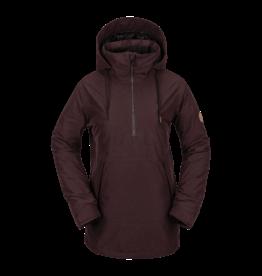 VOLCOM VOLCOM Fern Insulated GORE-TEX Pullover Black Red