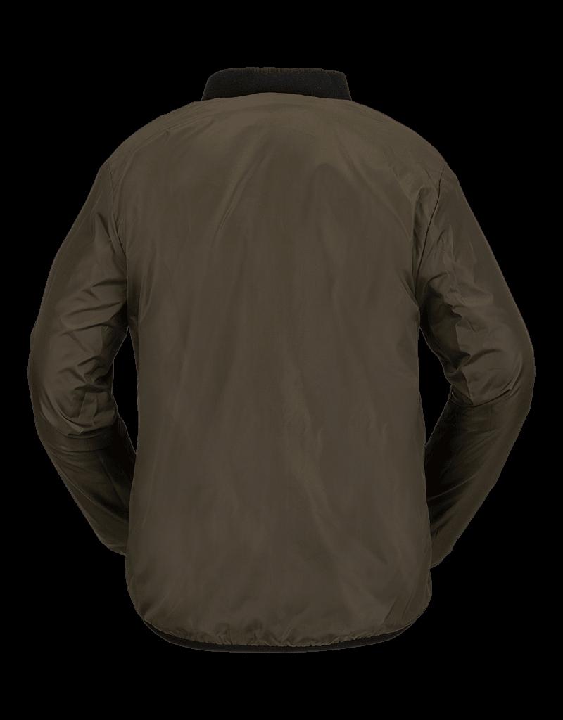 VOLCOM VOLCOM Reversible Polar Jacket - Service Green