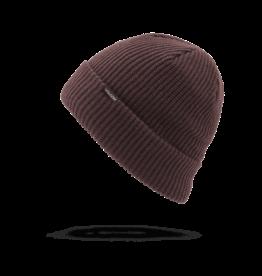 VOLCOM VOLCOM Polar Lined Beanie - Black Red
