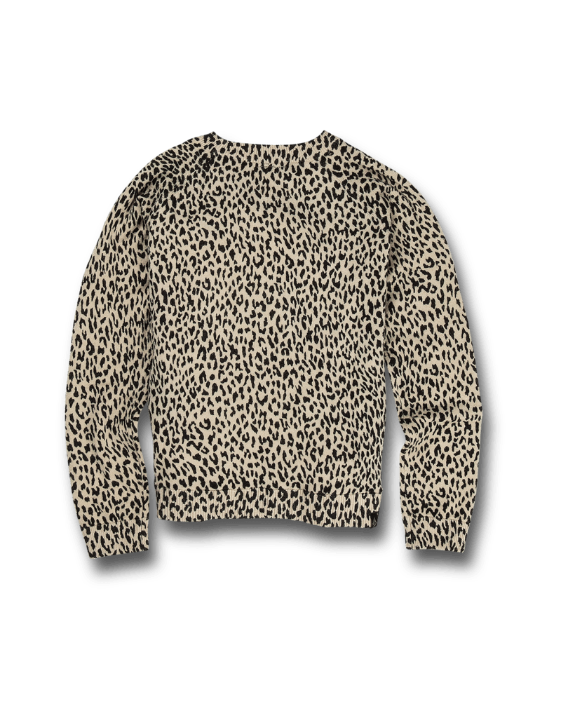 VOLCOM VOLCOM Big Girls Over N Out Sweater Leopard