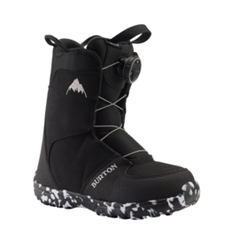 BURTON BURTON Kids' Grom BOA Snowboard Boot Black