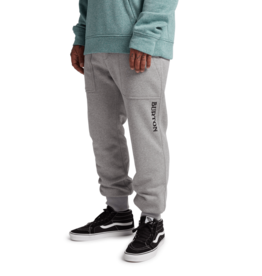 BURTON BURTON Oak Fleece Pant Gray Heather