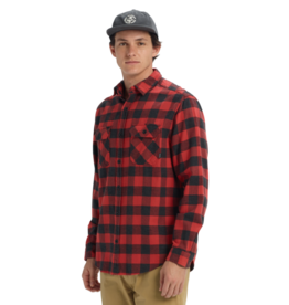 BURTON BURTON Brighton Flannel Tandori Heather Buffalo