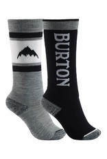 BURTON BURTON Kids' Weekend Midweight Sock 2-Pack True Black