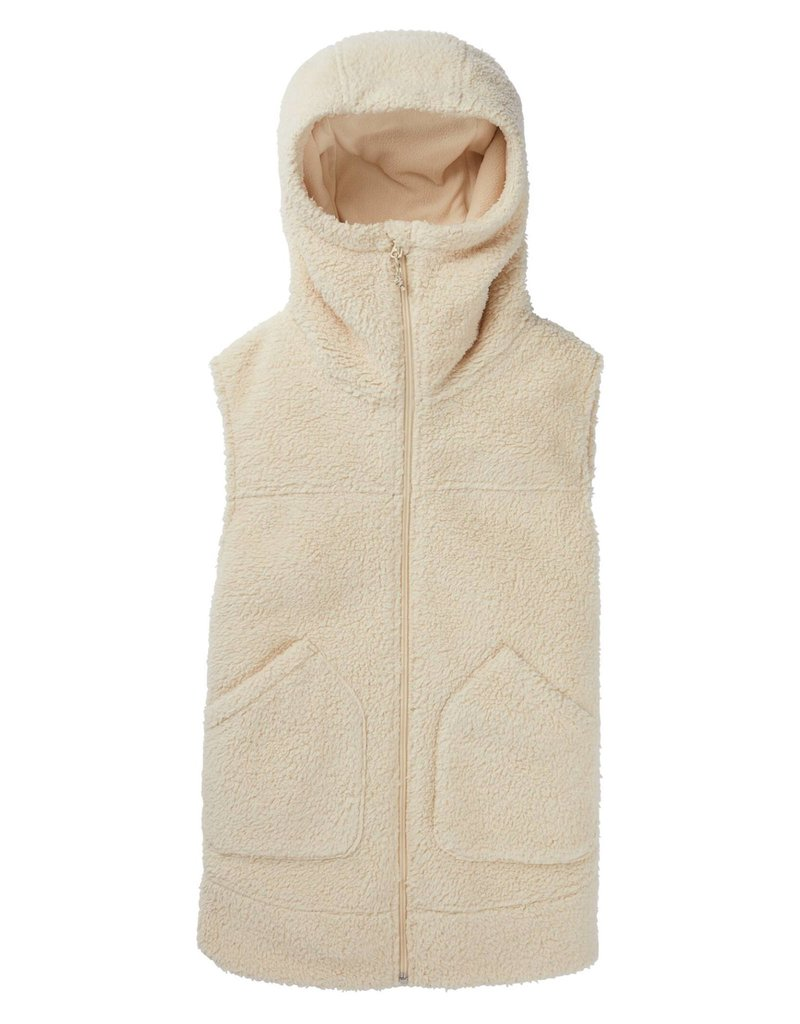 BURTON BURTON Minxy Vest Crème Brûlée Sherpa