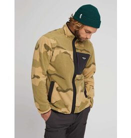 BURTON BURTON Hearth Full-Zip Fleece Barren Camo/True Black