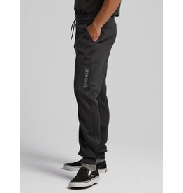 BURTON BURTON Oak Fleece Pant True Black Heather