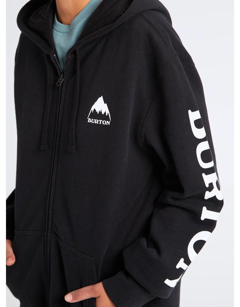 BURTON BURTON Elite Full-Zip Hoodie True Black