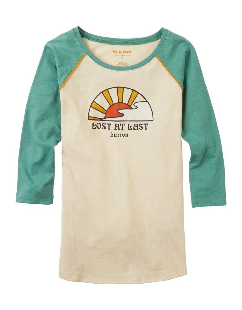 BURTON BURTON Ashmore Raglan Long Sleeve T-Shirt Crème Brûlée/Frosty Spruce